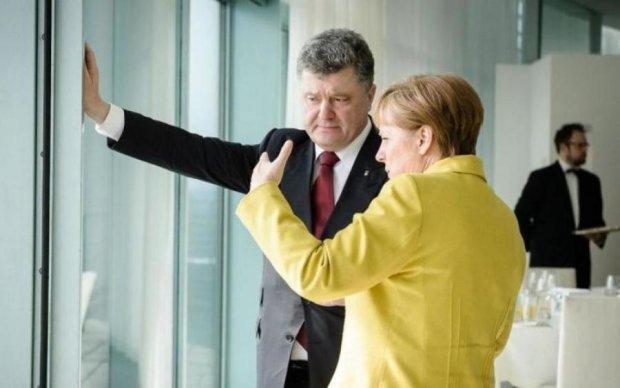 Порошенко та Меркель сіли за стіл переговорів: перші подробиці