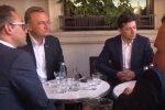 Зеленський і Садовий, скріншот з відео