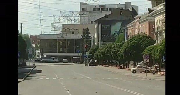 захват заложников в Луцке, скриншот с видео