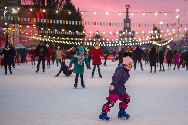 Где в Киеве весело провести новогодние праздники: каток, сказка Winterra, встреча с Дедом Морозом