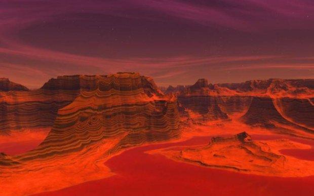 Вчені знайшли доказ життя на Марсі