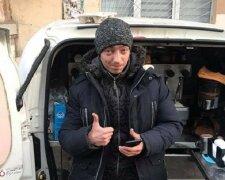 Одесит надихнув Україну вчинком, фото: Думская