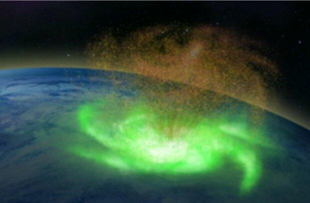 Космічний ураган, зображення Інстаграм