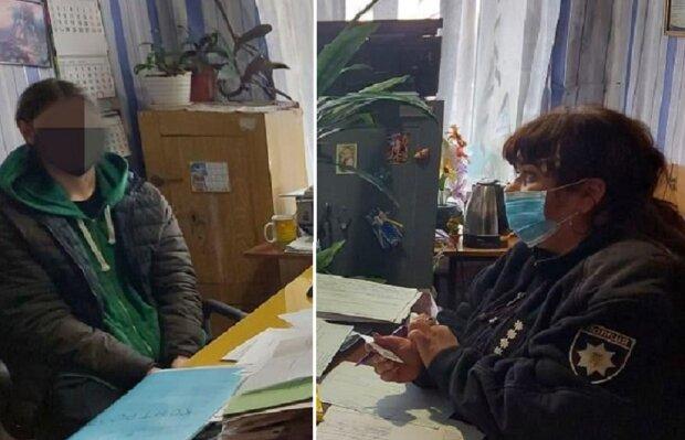 Полицейские провели беседу со школьником: Facebook полиция Харьковской области