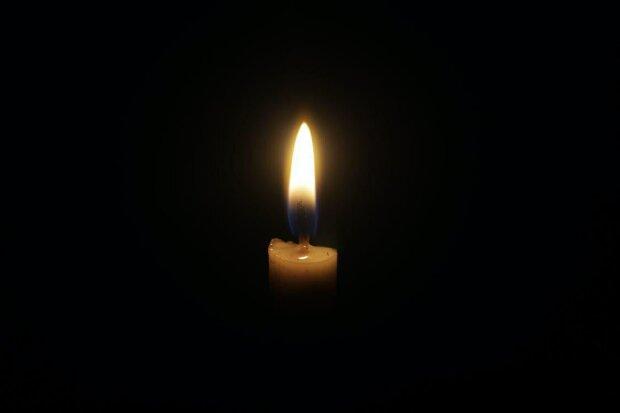 Свеча скорби, фото: скрнишот из видео