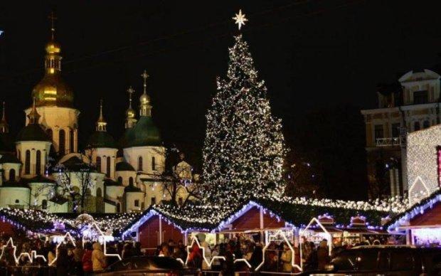 Красавицы и чудовища: полюбуйтесь новогодними елками украинских городов