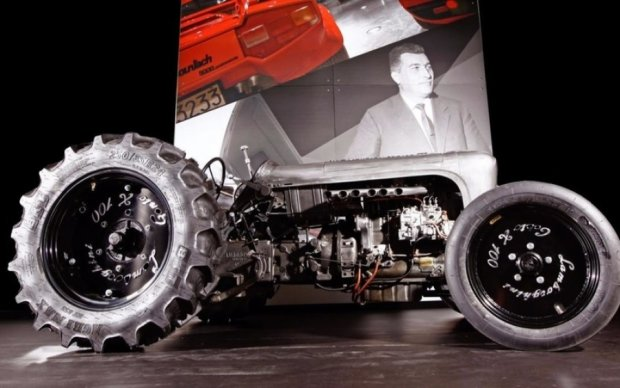 Lamborghini випустила елітний трактор