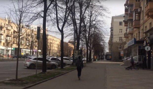 вулиці Харкова, скріншот з відео