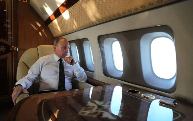 Літак Путіна ІЛ-96, фото: kremlin ru