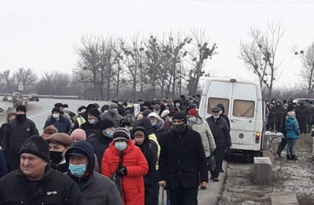 Протесты за снижение тарифов, фото: PavlovskyNEWS