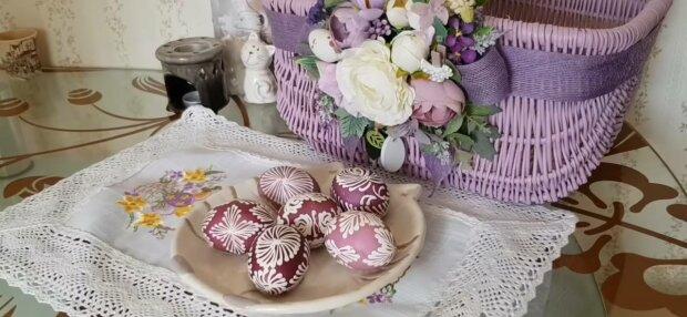 Яйца на Пасху, фото: скриншот из видео