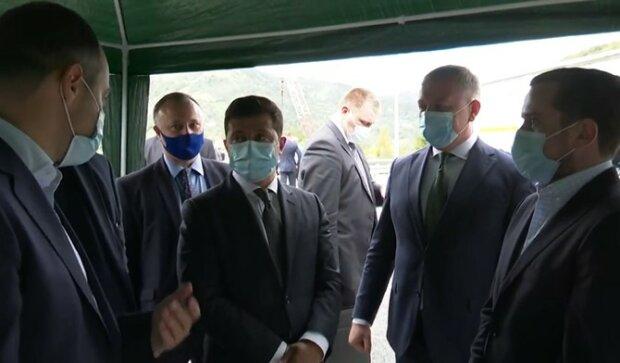 Зеленський у Чернівецькій області