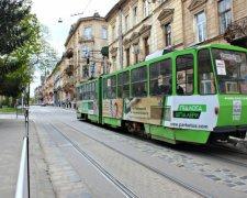 Трамвай №8 у Львові