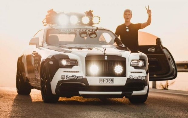 По-богатому: Rolls-Royce доработали для прогулок в горах