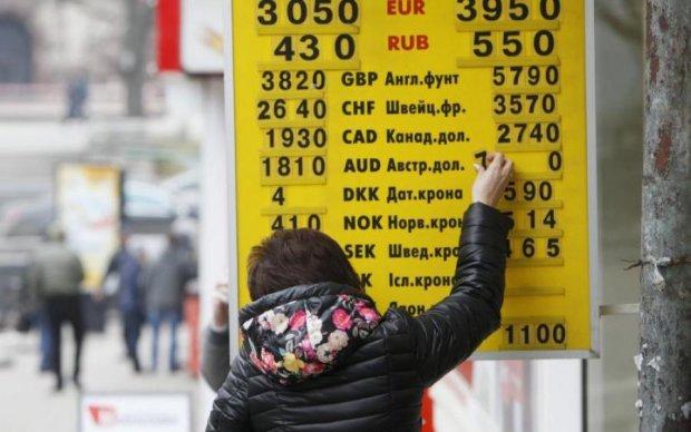 Новорічний курс валют неприємно здивує українців