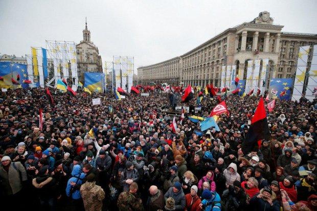 Скандал в Укроборонпромі вивів на вулиці тисячі киян: кадри з центру столиці