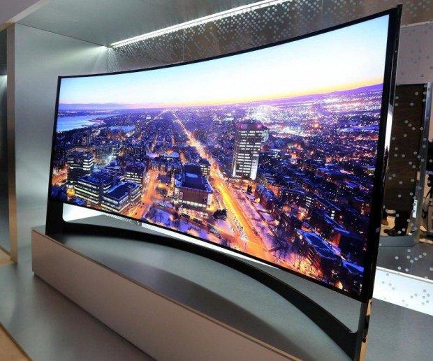 Samsung запатентовала гибкий телевизор, маразм крепчал