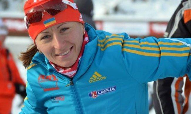 Украинская биатлонистка принесла золото на чемпионате мира