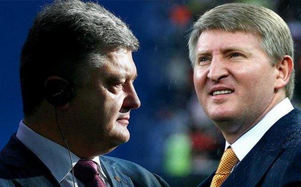 Петр Порошенко и Ринат Ахметов