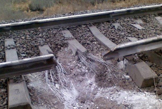 На залізниці в Луганській області стався вибух