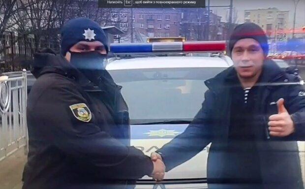 """В Киеве женщина начала рожать посреди дороги, муж не растерялся - """"Алло, полиция!"""""""