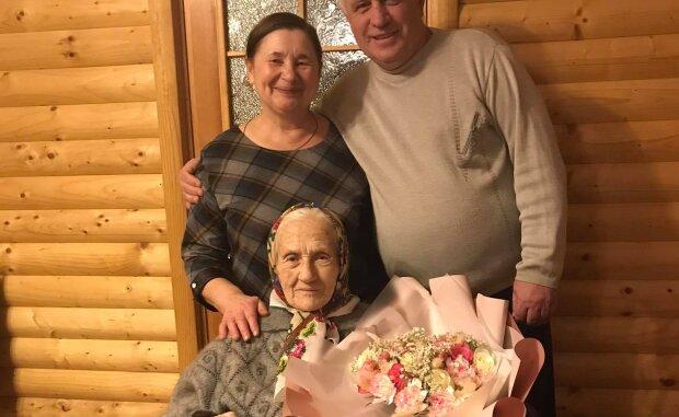 Витюк Юстина Яковлевна отпраздновала 90-летие: Facebook Нестор Мартынец