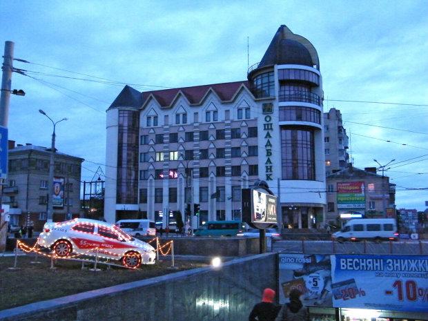У Хмельницькому показали порно на великому екрані: городяни оніміли від такого подарунка