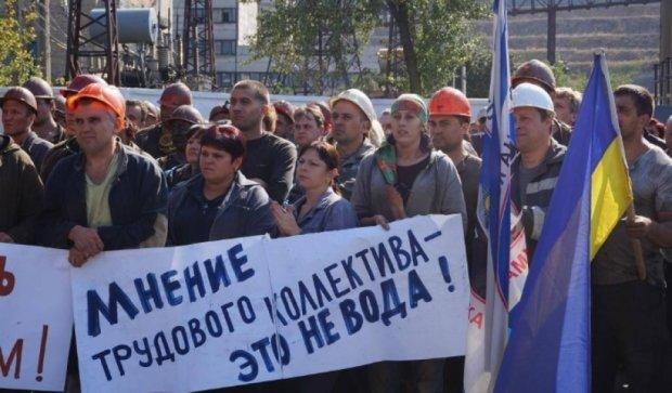 """Шахтеры """"Краснолиманской"""" готовы к более решительным шагам - Жебривский"""