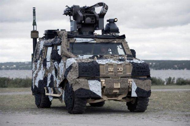 Saab створив універсальний камуфляж бойової техніки для міста (фото)