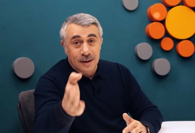 Євген Комаровський, скріншот YouTube