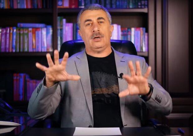 Євген Комаровський, скрін з відео