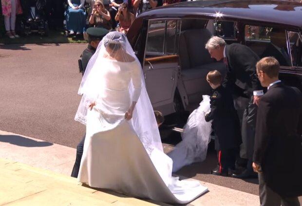 Весілля принца Меган Маркл, скріншот відео