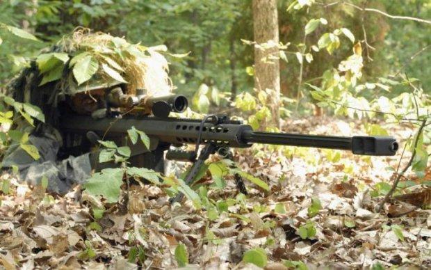 Минус один: меткий выстрел украинского снайпера попал на видео