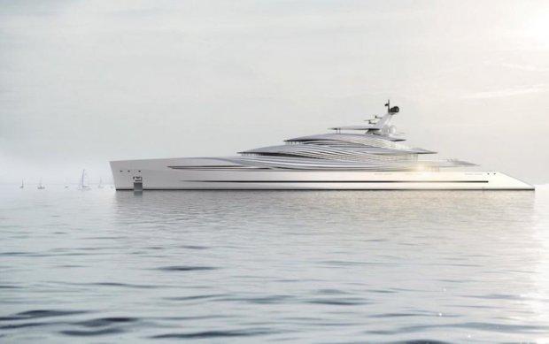 Роскошная яхта защитит олигархов от посторонних глаз