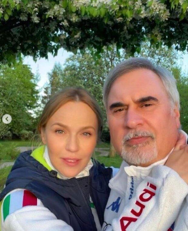 Валерий Меладзе и Альбина Джанабаева, фото: Instagram