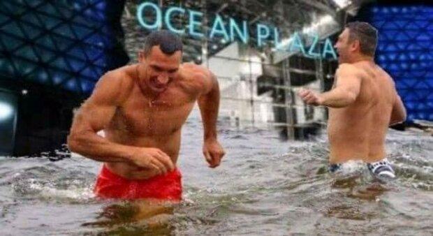 Фотожаба на потоп в Киеве, фото: apostrophe.ua