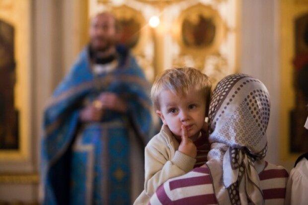 церковь, священник, ребенок