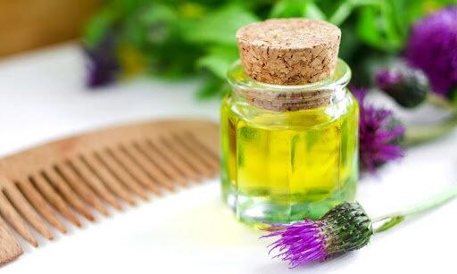 Реп'яхова олія для волосся і шкіри