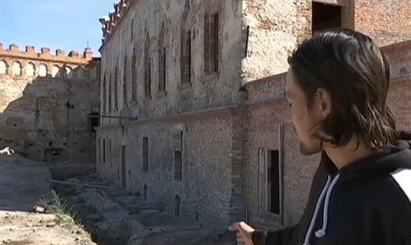 Украинские археологи нашли 700-летнюю крепость, скриншот