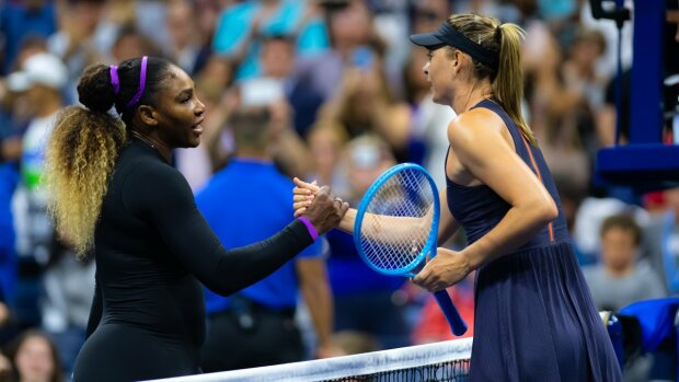Серена Уильямс уверенно победила Марию Шарапову