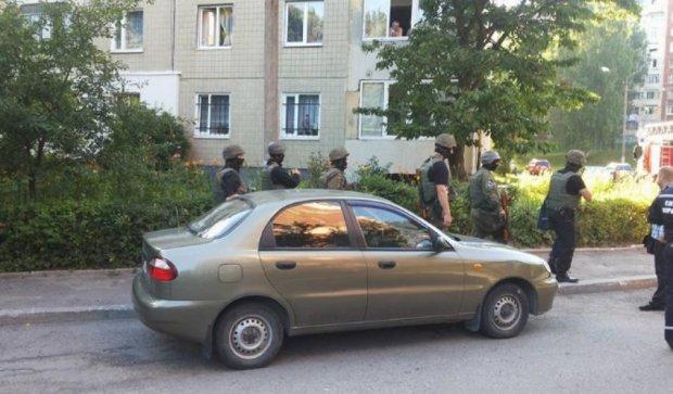 Во Львове милиция взяли штурмом квартиру с рабами-нелегалами