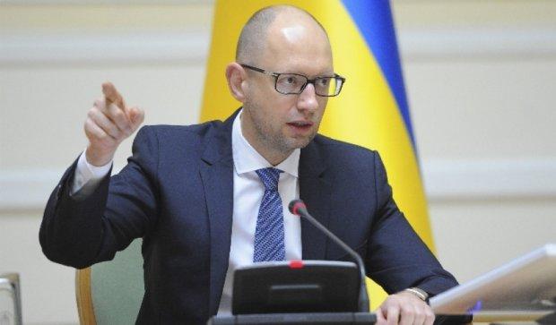 Яценюк пропонує Євросоюзу збільшити квоти для українських продуктів