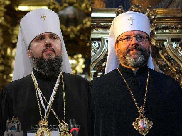 Блаженнейший Святослав и Блаженнейший Епифаний
