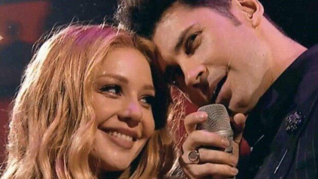 Дан Балан и Тина Кароль, скриншот из видео