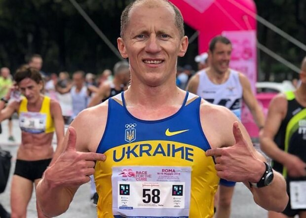 Украинский легкоатлет Иван Гешко, фото 24 канал