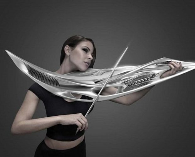 Надрукована на 3D-принтері скрипка звучить, як звичайна