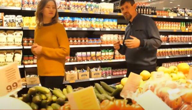 В супермаркеті, фото: youtube
