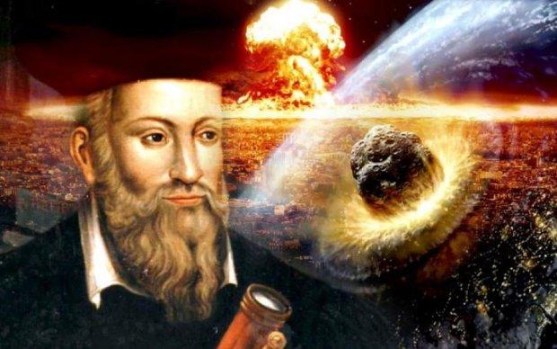 Третя світова, землетруси та астероїд: Настрадамус передбачив людству пекельний 2018-й