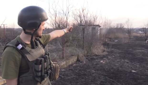 Донбас, скріншот: ООС / Facebook