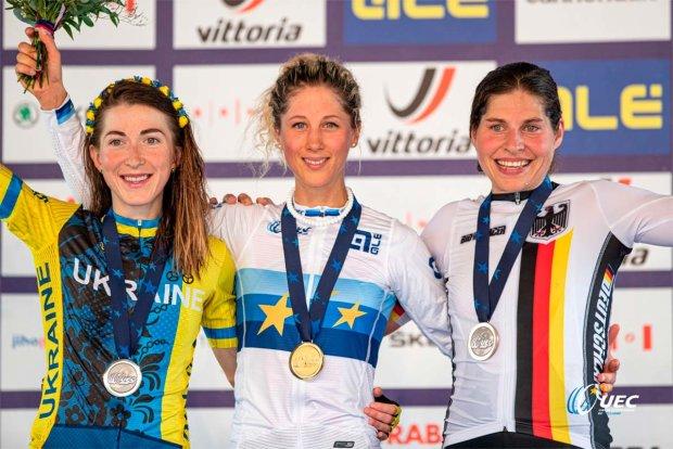 Яна Беломоина завоювала срібло чемпіонату Європи